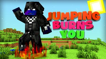 Jumping Burns You Minecraft Data Pack