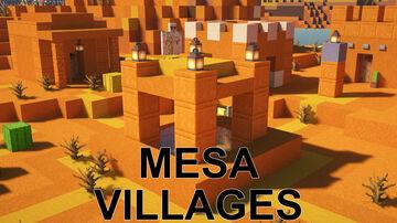 Mesa Villages Minecraft Data Pack