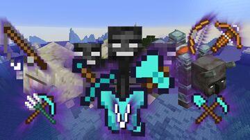 The 5th Enchant Mini-bosses loot - V Level Enchantments Minecraft Data Pack