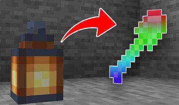 Minecraft, but Lanterns are OP! Minecraft Data Pack