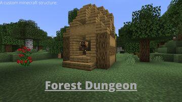 Forest Dungeon Minecraft Data Pack