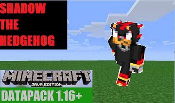 Shadow The Hedgehog Datapack 1.17+/1.16+ Minecraft Data Pack