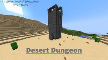 Desert Dungeon Minecraft Data Pack