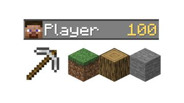 Total Mined Blocks Minecraft Data Pack
