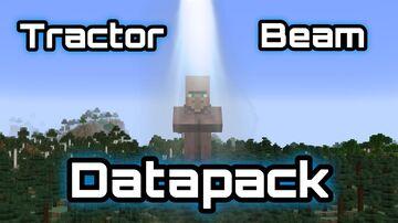 Tractor Beam Datapack Minecraft Data Pack