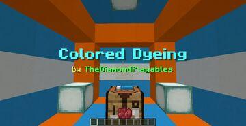 Redye Dyeable Blocks! (1.17) Minecraft Data Pack