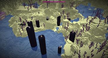 Inverted Terrain Generation Minecraft Data Pack