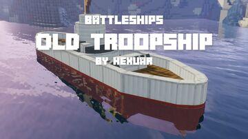 BattleShips 2: Old Troopship Minecraft Data Pack