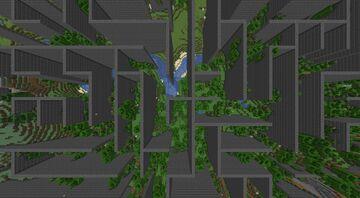 Minecraft but the world is a maze Minecraft Data Pack