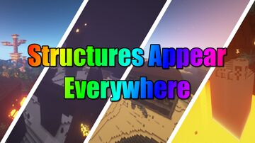 Structures Appear Everywhere Minecraft Data Pack