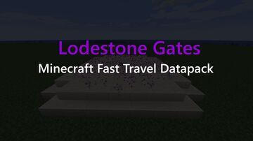 Lodestone Gates | Minecraft Fast Travel Datapack | v2.1.0 Minecraft Data Pack