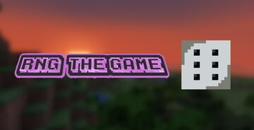 RNG (The Game) V1.2 Minecraft Data Pack