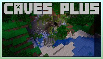 Caves Plus (Caves+) Datapack Minecraft Data Pack