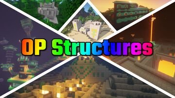 OP Structures Minecraft Data Pack