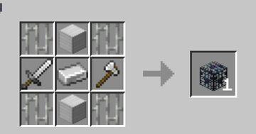 Minecraft You Can Craft Spawner Minecraft Data Pack