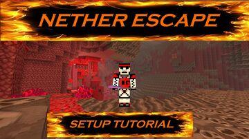 Nether Escape - Minigame/challenge Minecraft Data Pack