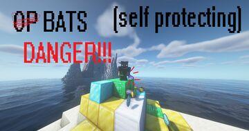 BATS DEFEND OP LOOT (DON'T KILL THEM) Minecraft Data Pack