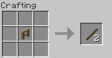 Fence and Gate Recycling Minecraft Data Pack
