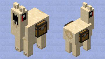 Nightmare llama Minecraft Mob Skin