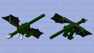 scp-682 Minecraft Mob Skin
