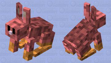 My Nether Bunny Minecraft Mob Skin