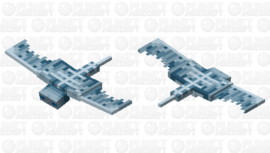 Winter Phantom Minecraft Skin
