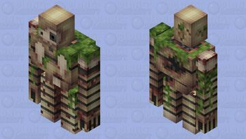 Ancient Laputan Robot Minecraft Mob Skin