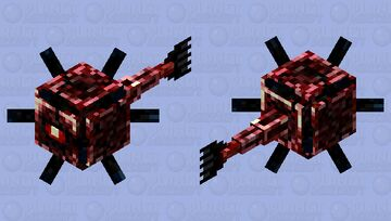 Nether guardian Minecraft Mob Skin