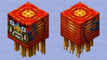 Lantern Ghast Minecraft Mob Skin
