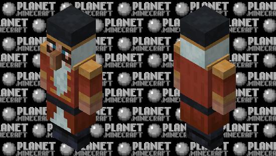 Nutcracker Minecraft Skin