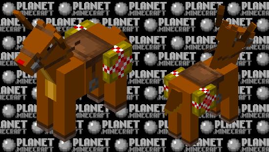Do you wanna ride a reindeer? Minecraft Skin