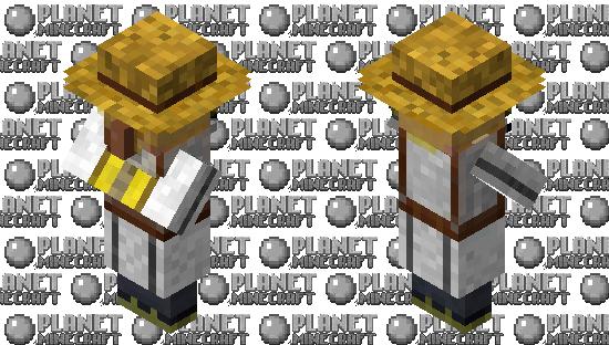 beekeeper villager Minecraft Skin