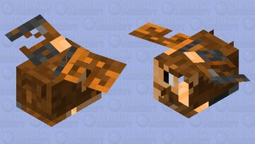 Bee In Absolute Pain Minecraft Mob Skin