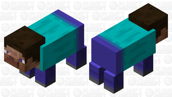 Steve pig Minecraft Skin