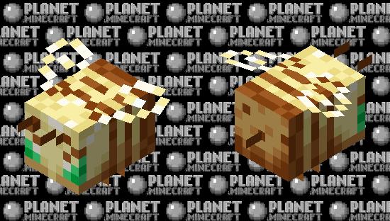 Totem of Sweetness (Totem Bee) Minecraft Skin