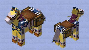 Bujingi Quilin Minecraft Mob Skin
