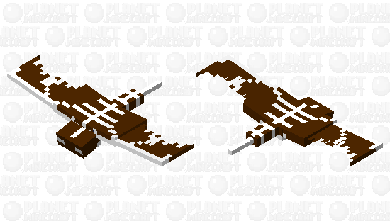 Gingerbread Phantom Minecraft Skin
