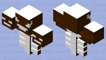 Gingerbread Wither Minecraft Mob Skin