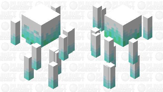 Frostburn ELemental Minecraft Skin