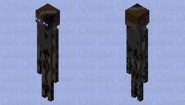 Enderman Beginnings Minecraft Mob Skin