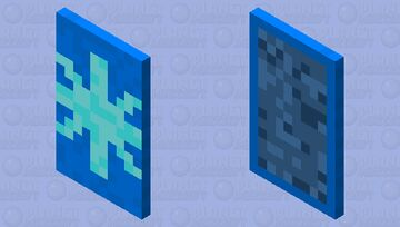 Snowflake Cape Minecraft Mob Skin