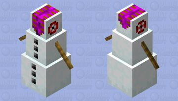 abomination snow man Minecraft Mob Skin