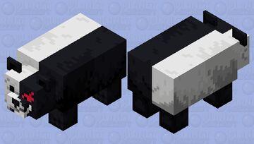 Monokuma (Danganronpa Main Antagonist) Minecraft Mob Skin