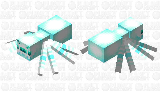 Polar spider Minecraft Skin
