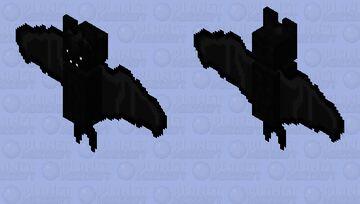 Black Bat (HD) Minecraft Mob Skin
