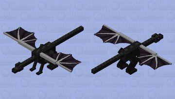 Better Better Ender Dragon Minecraft Mob Skin