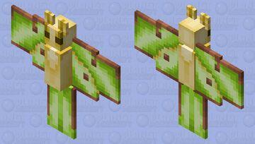 Lunar Moth! Minecraft Mob Skin