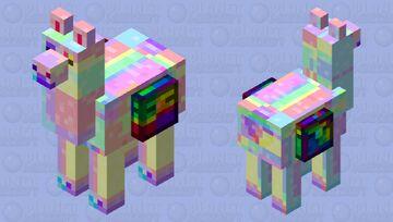 Broken llama Minecraft Mob Skin