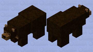 fixedbrownbear Minecraft Mob Skin