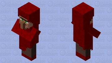 Nether Villager Minecraft Mob Skin